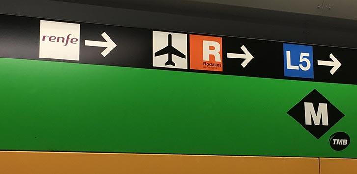 Aeroporto-Barcelona-transporte-Estrangeira-metro
