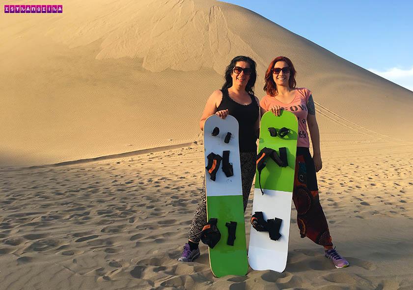 Tem Na Web - Passeio de buggy e sandboard nas dunas de Huacachina e visita às vinícolas de pisco