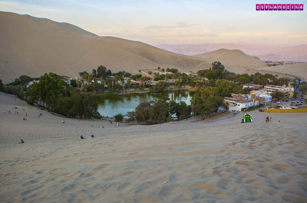O oásis de Huachica - Peru