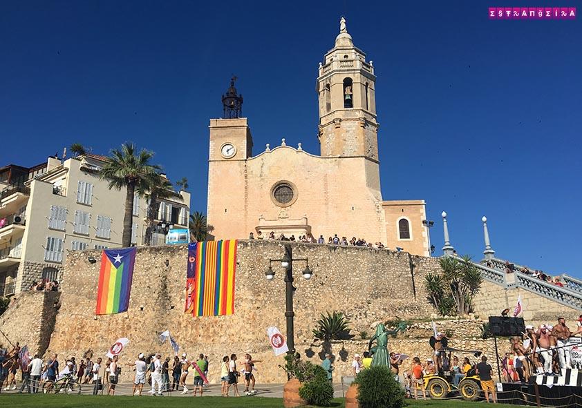 Gay Pride Sitges 2017 Igreja