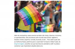 Viajala Facebook - melhores eventos LGBT
