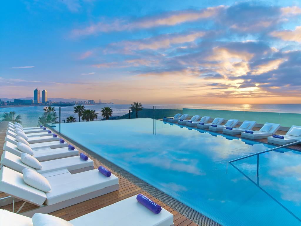 Hotel Vela W Barcelona Luxo Piscina Estrangeira
