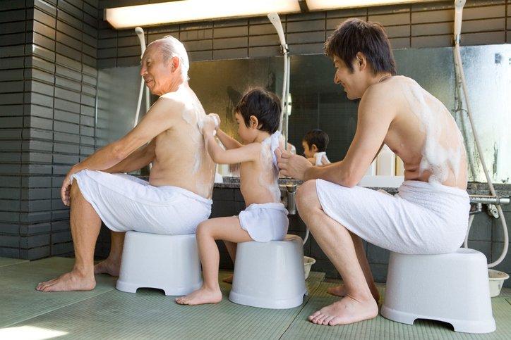 Banho público Japão