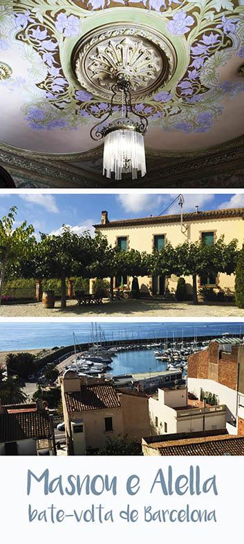 Bate-volta de Barcelona - visita à Masnou e Alella, no Maresme