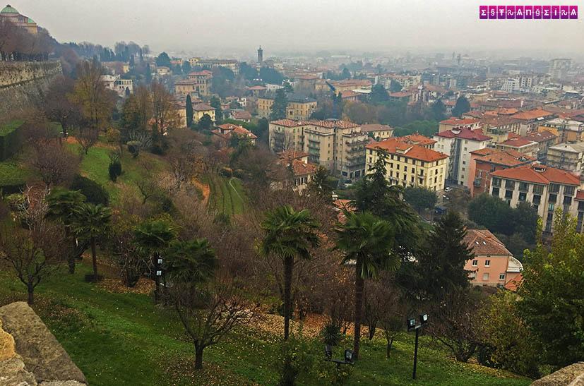 Bergamo-Italia-Cidade-Alta