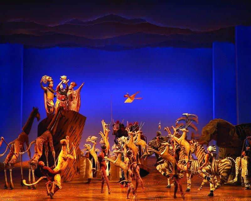 Tem Na Web - Espetáculo O Rei Leão na Broadway (Nova York) - Estrangeira