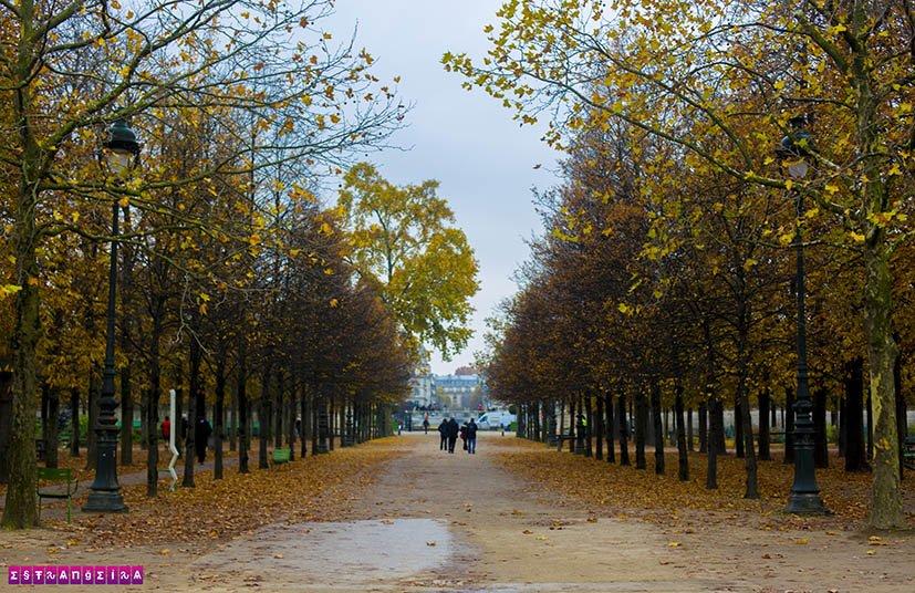 quanto-custa-viajar-para-paris-jardim-Tuileries