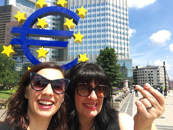 Frankfurt-simbolo-euro