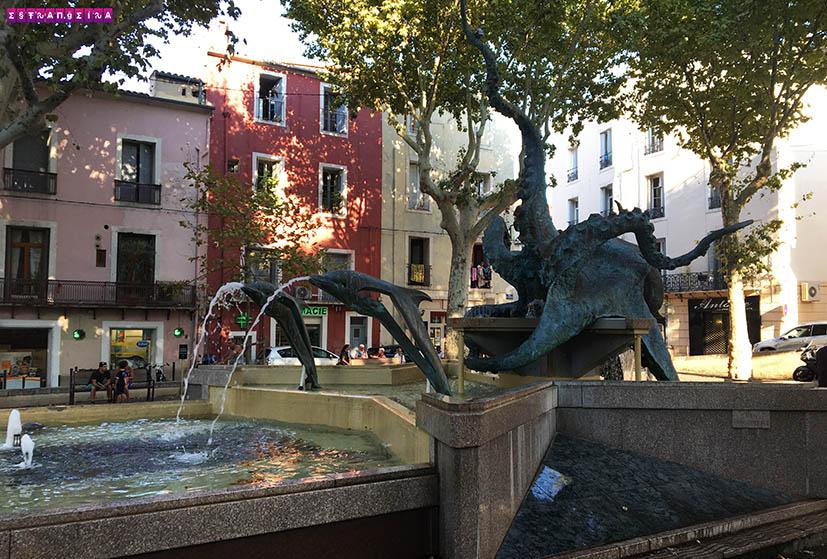 Sete-franca-estatua-polvo