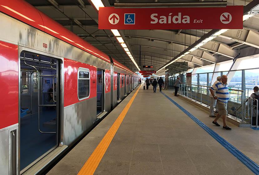 Trem Para O Aeroporto De Guarulhos  Como Funciona
