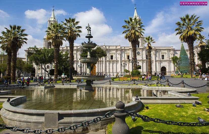 lugares-para-visitar-no-Peru-Arequipa