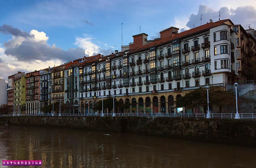 Bilbao-espanha-rio-nervion