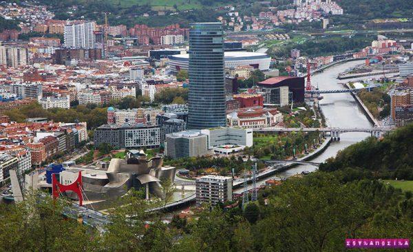 Bilbao-espanha-vista-mirador-Artxanda