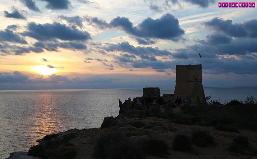 Malta-praias-Għajn-Tuffieħa-Bay-sol