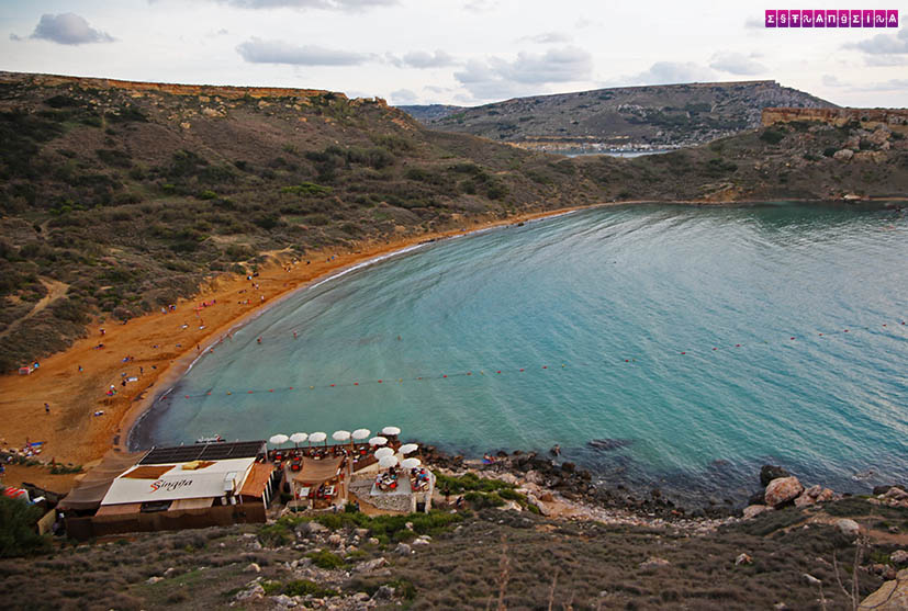 Malta-praias-Għajn Tuffieħa Bay