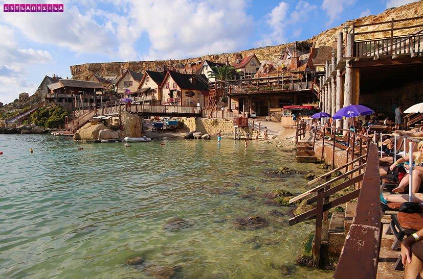 Malta-popeye-village-praia