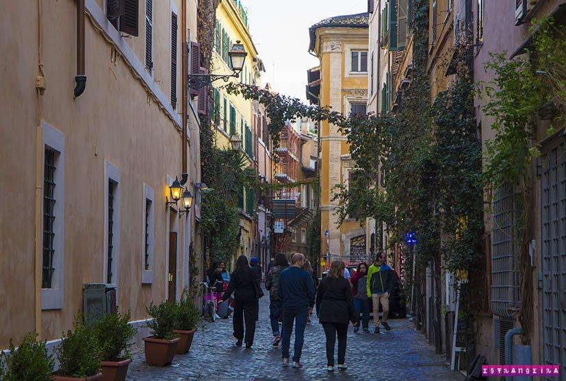 Roma-Italia-trastevere