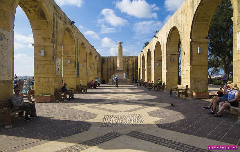 Valletta-Malta-Barrakka-Gardens