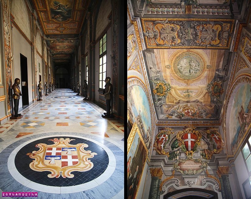 Valletta-Malta-Grandmaster-Palace-corredores