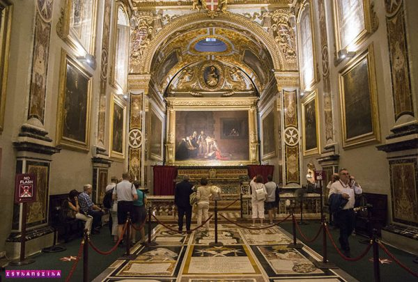 Valletta-Malta-St.John's-cathedral-caravaggio