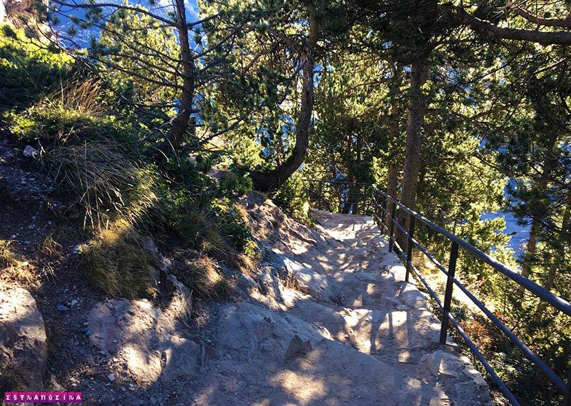 Mirante-em-Andorra-Roc-del-Quer-escada