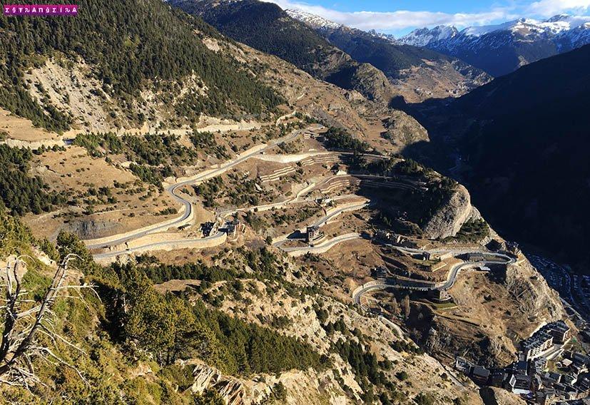 Mirante-em-Andorra-Roc-del-Quer-estrada
