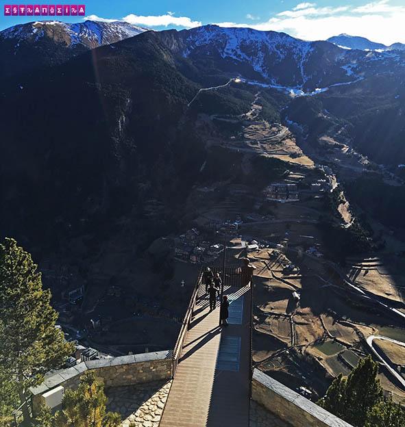 Mirante-em-Andorra-Roc-del-Quer-passarela