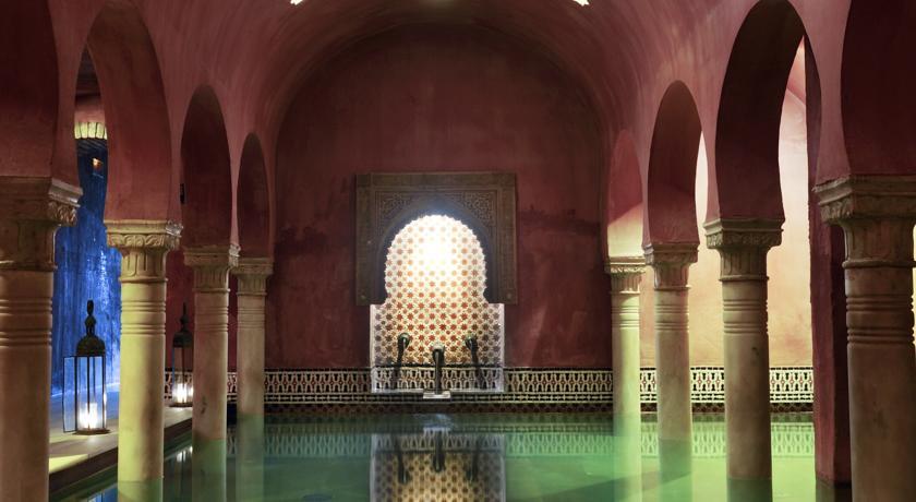 onde-ficar-em-granada-hotel-eurostars-catedral-banho-turco