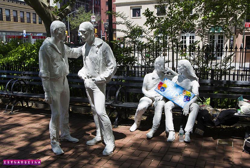 Stonewall-estatuas