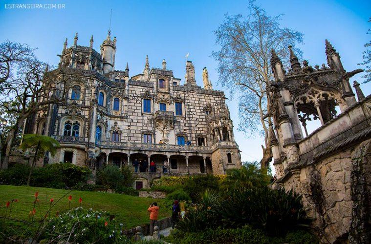 Mansão da Quinta da Regaleira em Sintra