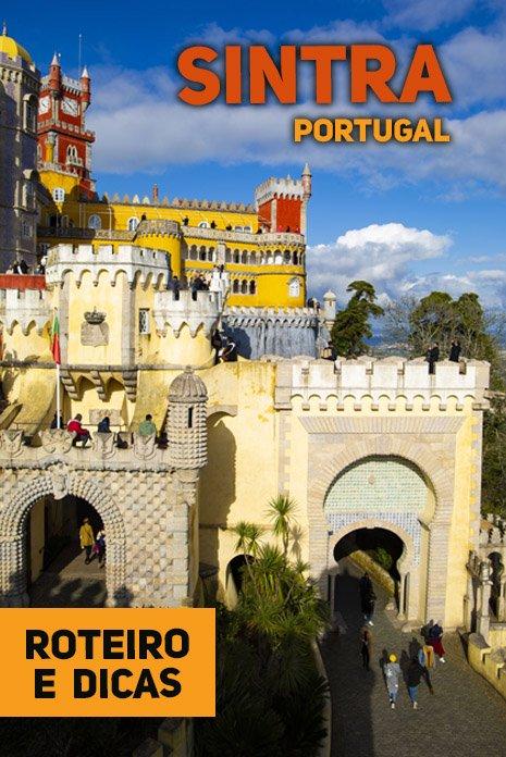 Castelo da Pena em Sintra